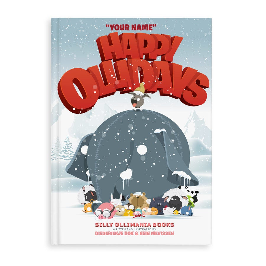 Happy Ollidays - HC - with Happy Ollidays wish cards