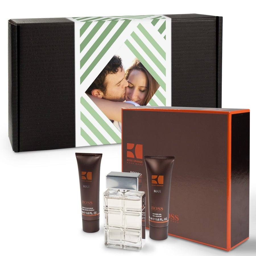 Gift set - Hugo Boss Orange Man