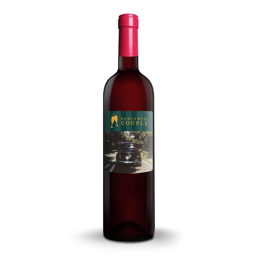 Wein mit bedruckten Etikett - Ramon Bilbao Crianza