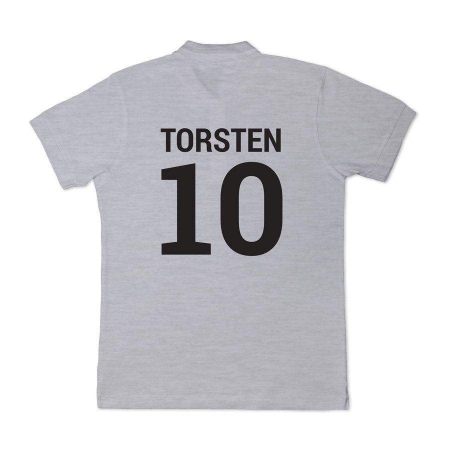 Poloshirt Herren - Grau - S