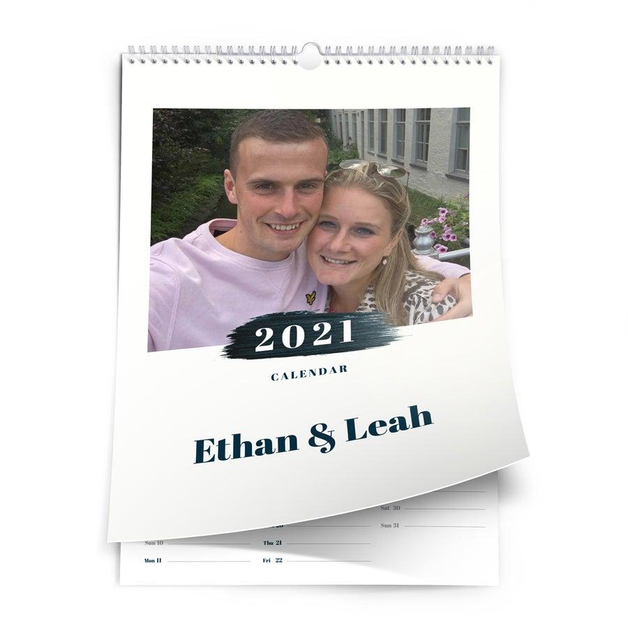 Calendar 2021 - A3 - one-sided - vertical