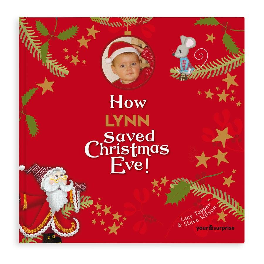 Personalised book - Saving Christmas Eve - Hardcover - XXL