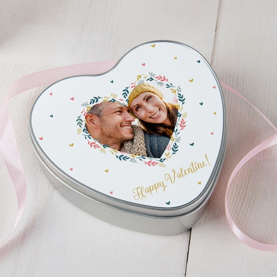 Lata de regalo - San Valentín