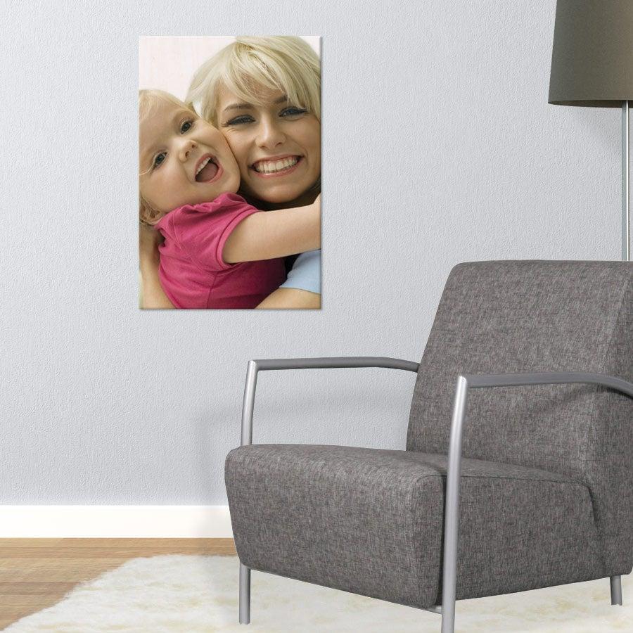 Puinen valokuvataulu (40x60cm)