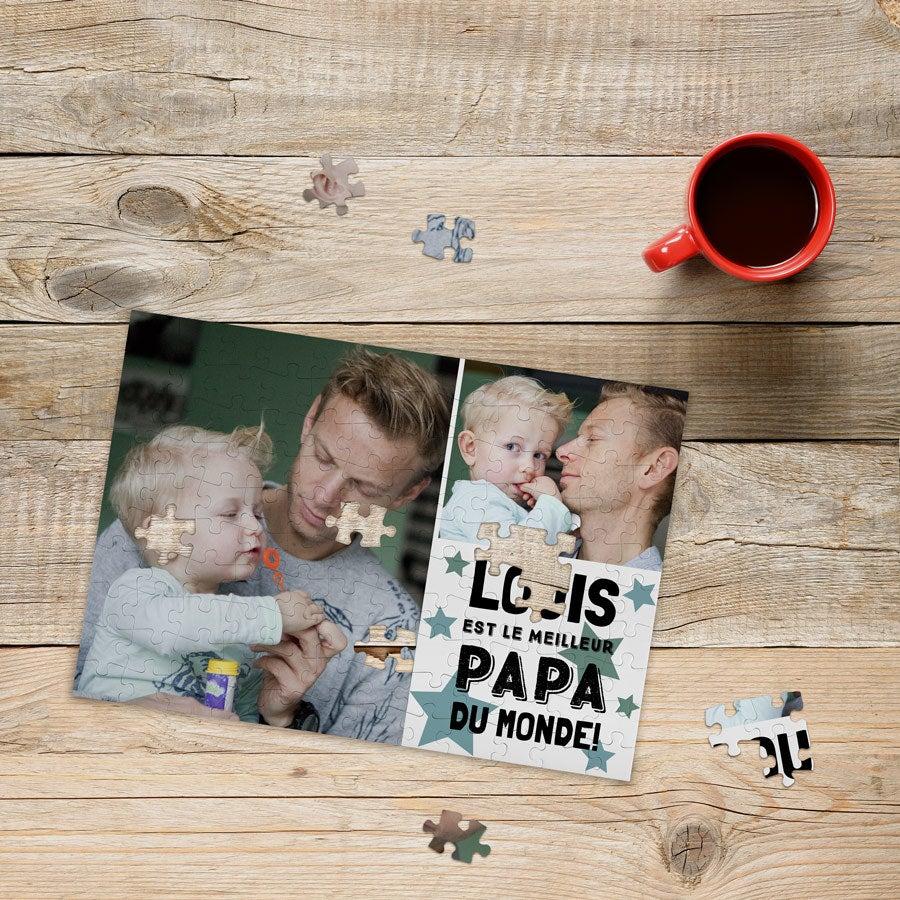 Puzzle photo Fête des Pères - 120 pièces