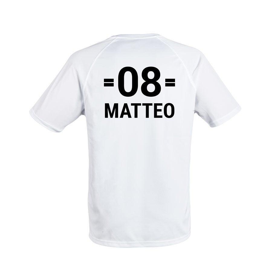 Sportshirt - Herren - Weiß - S