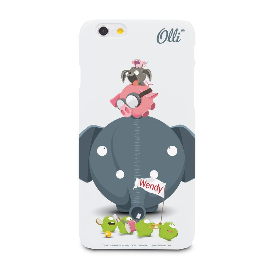 Ollimania - iPhone 6 - foto cover 3D print