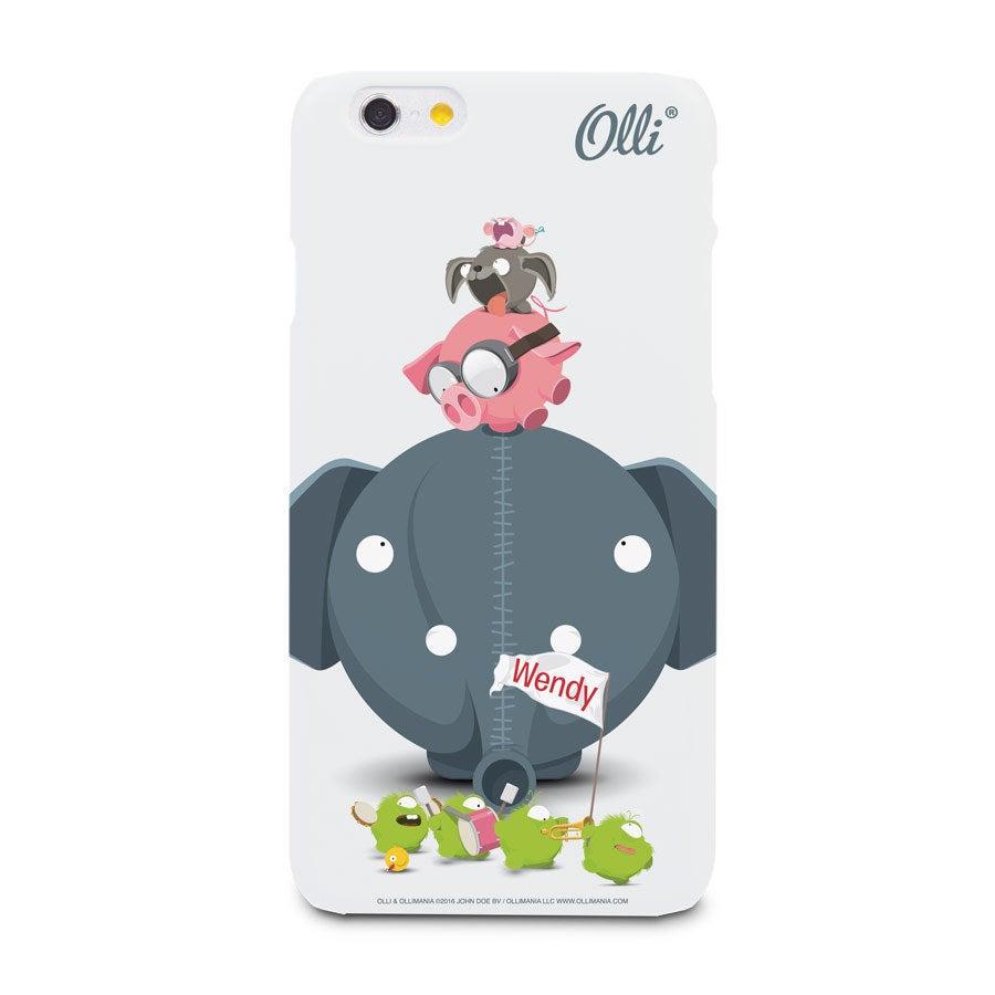 Ollimania - iPhone 6 - photo case 3D print