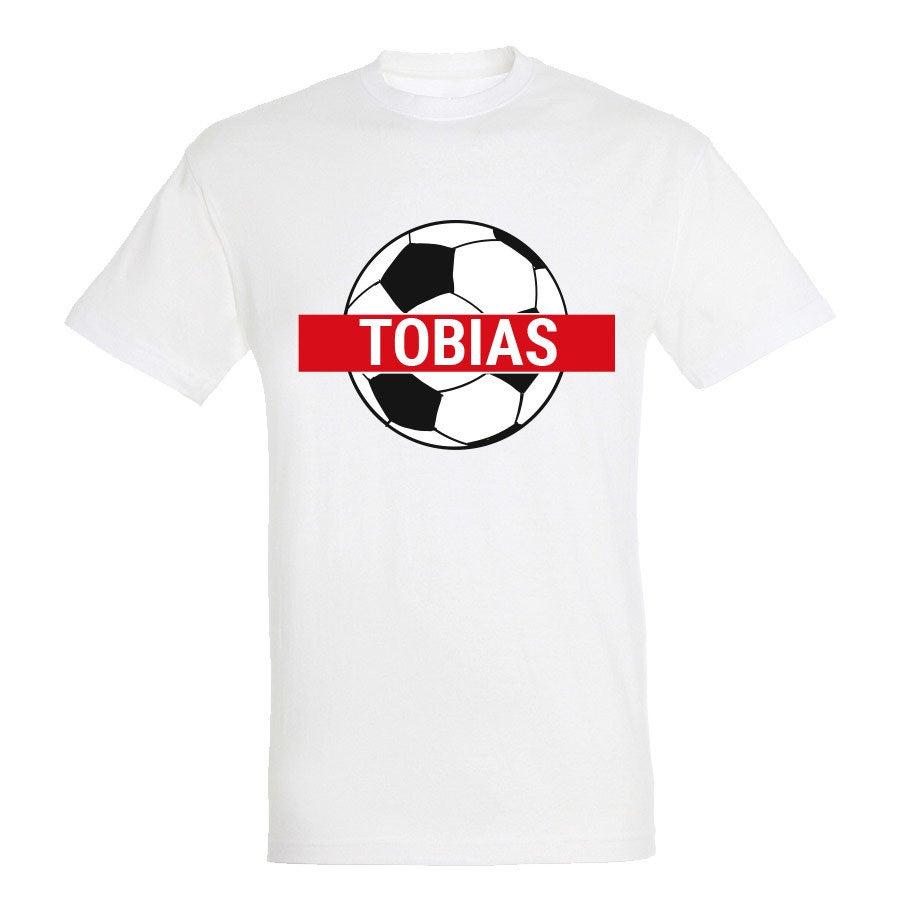 VM-T-shirt - Unisex - Hvid - S