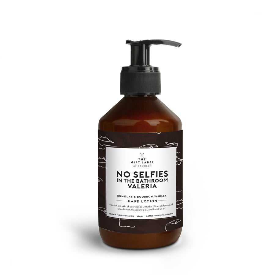 Personalised hand lotion - The Gift Label - 250 ml