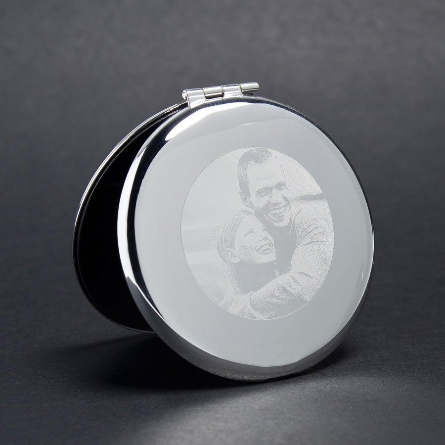 Makeup Mirror - Graveret