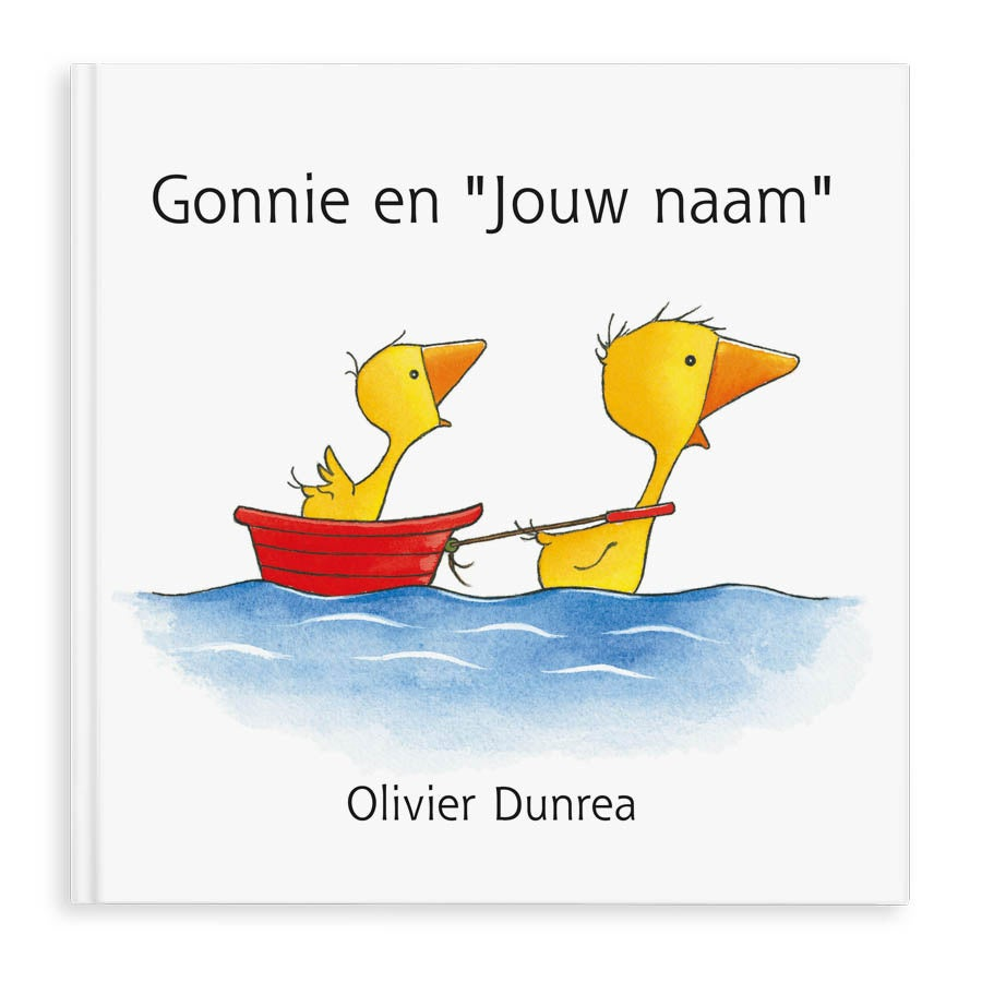 Boek met naam - Gonnie en Gijsje - Hardcover
