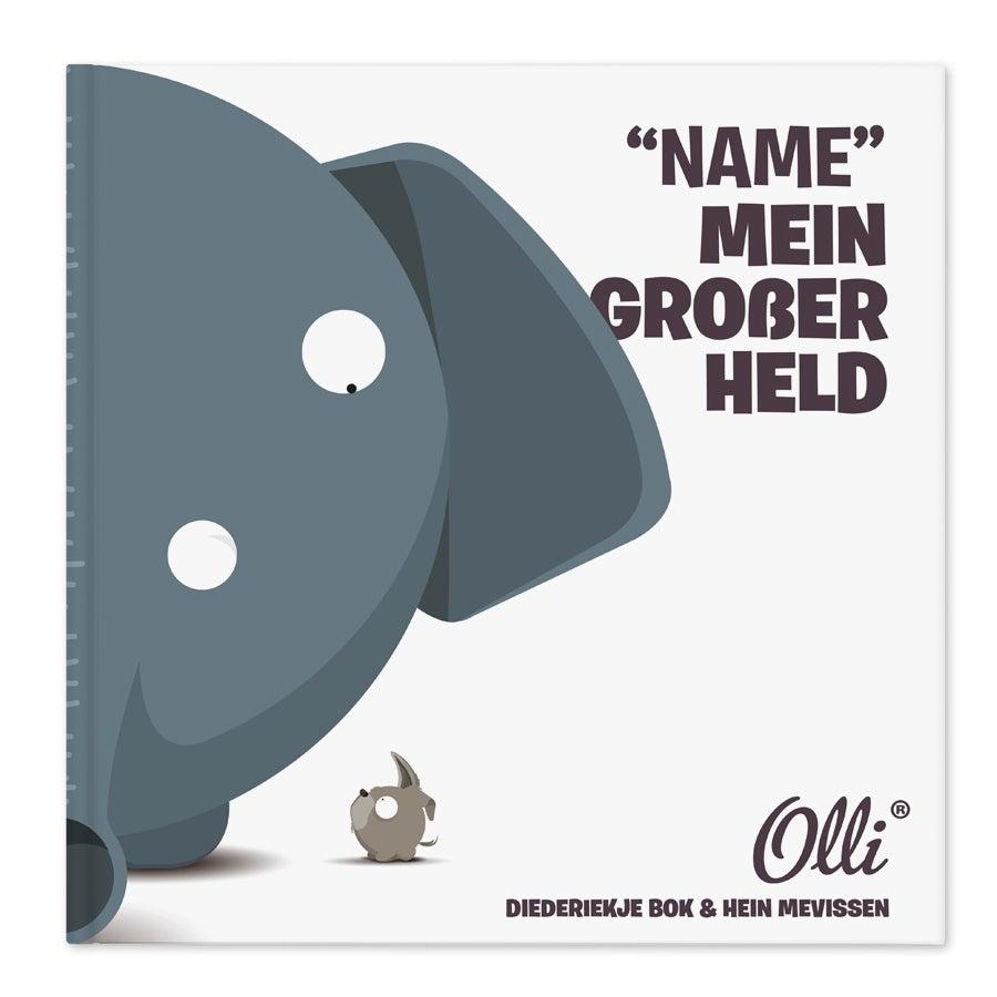 Individuellmedien - Buch Ollimania Mein großer Held - Onlineshop YourSurprise