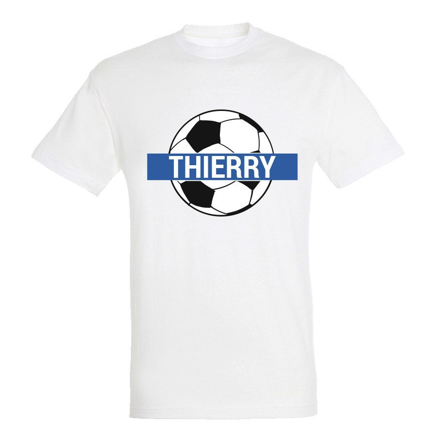 T-shirt Coupe du Monde 2018 - Unisex - Blanc - S