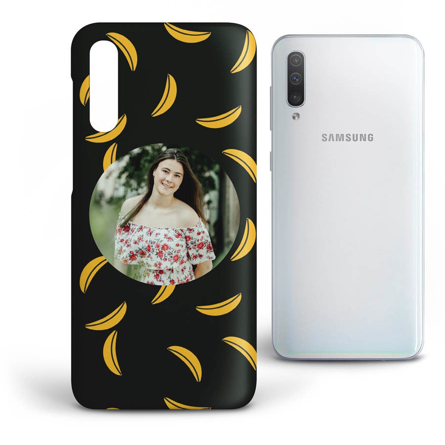 Personlig mobildeksel - Samsung Galaxy A50 - Heldekkende trykk