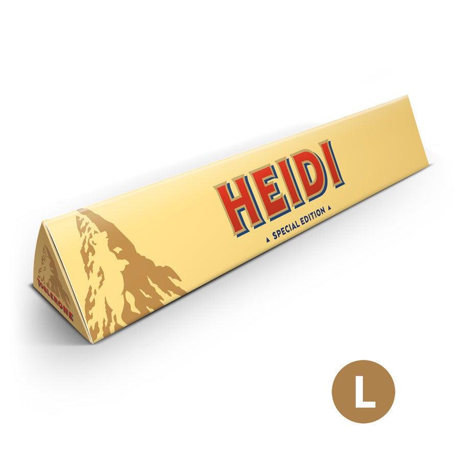 Personalisierte Toblerone Schokolade - 360 Gramm
