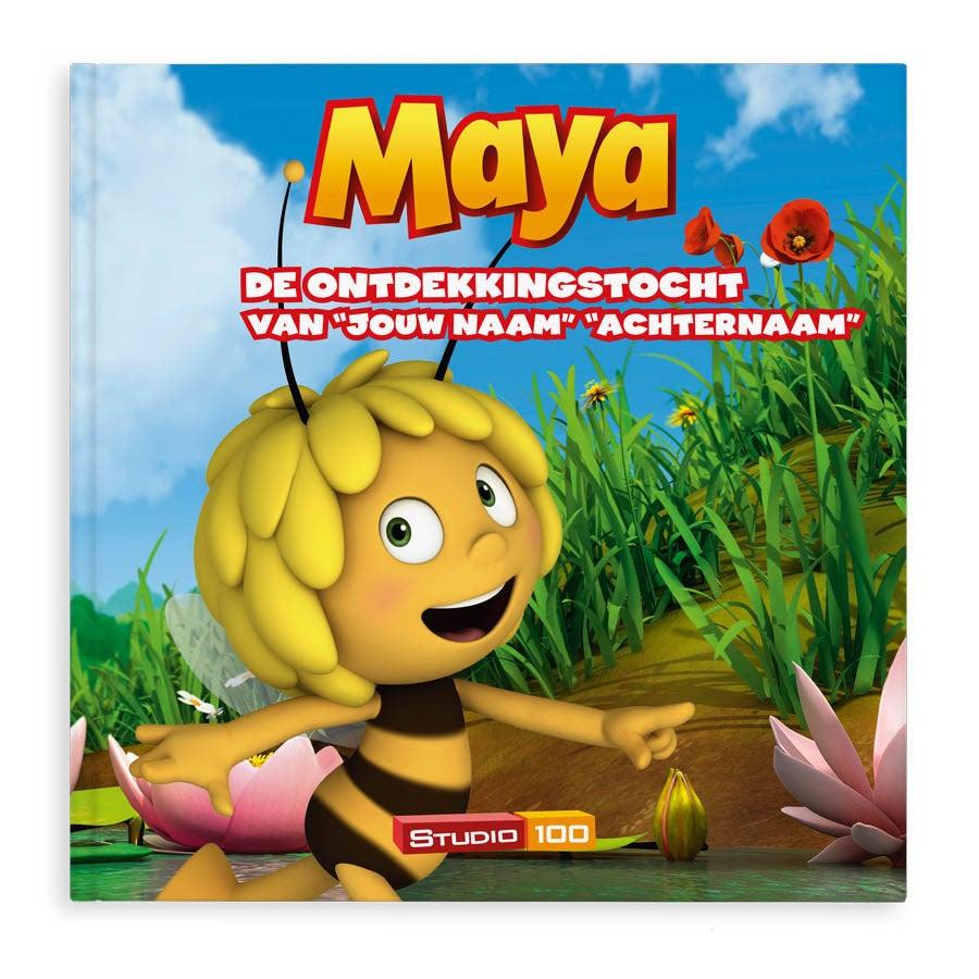 Boek met naam - Maya de Bij - De ontdekkingstocht - Hardcover