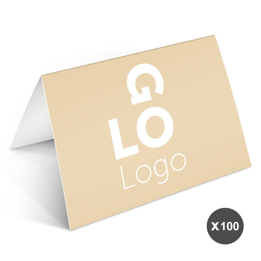 Business greeting cards with photo - 100 greeting cards