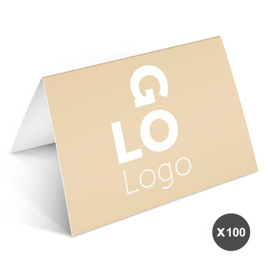 Formelt kort med bilde - 100 doble kort