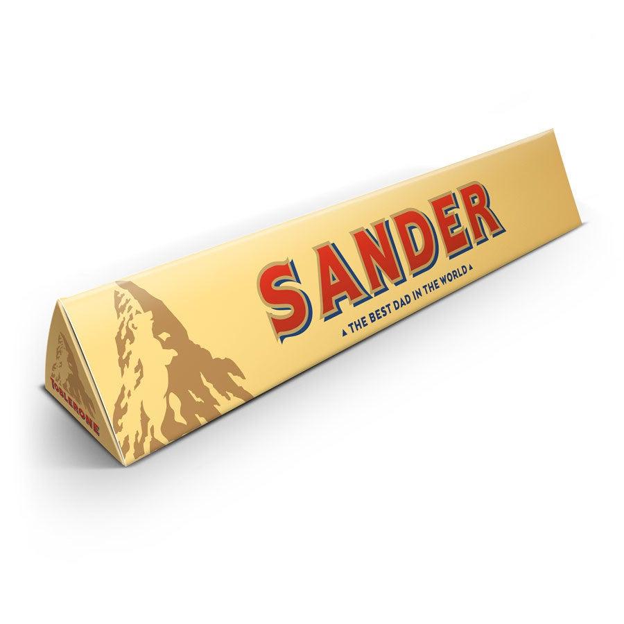 Gepersonaliseerde Toblerone reep - Vaderdag