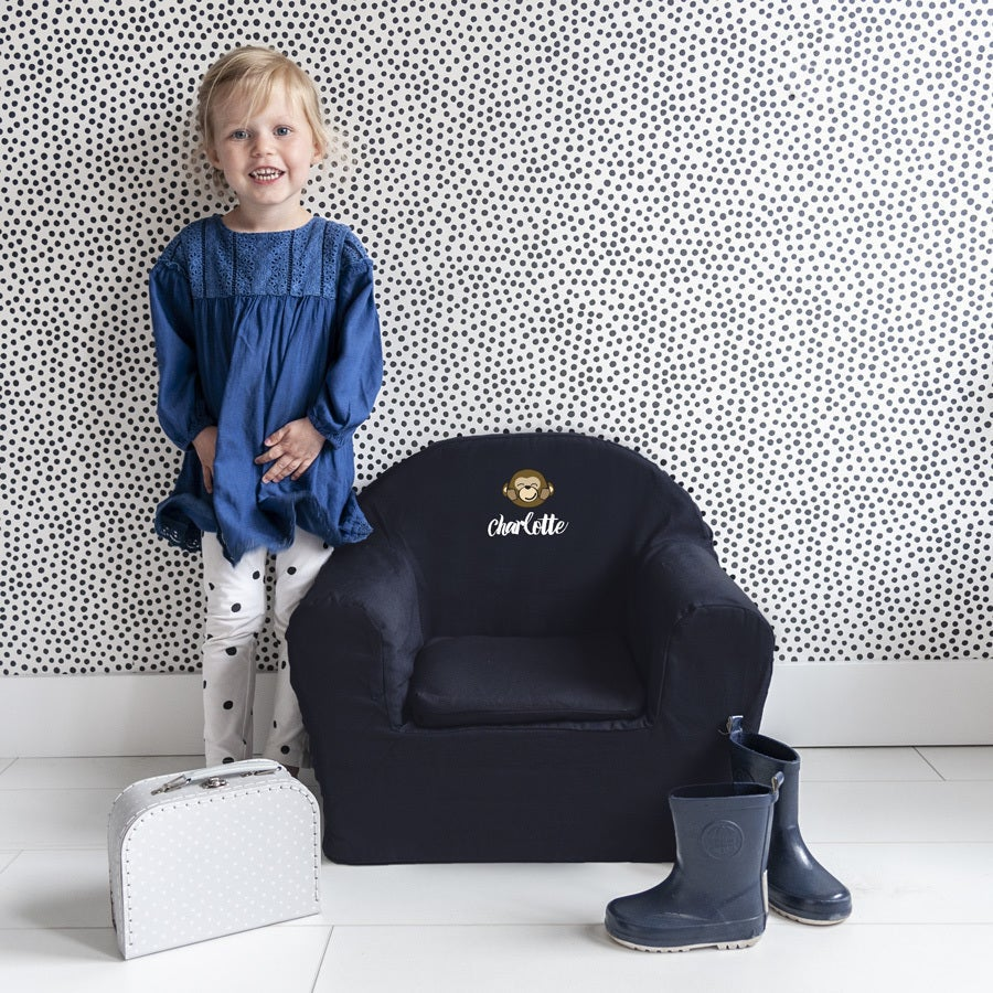 Personalised Children's Chair - Blue