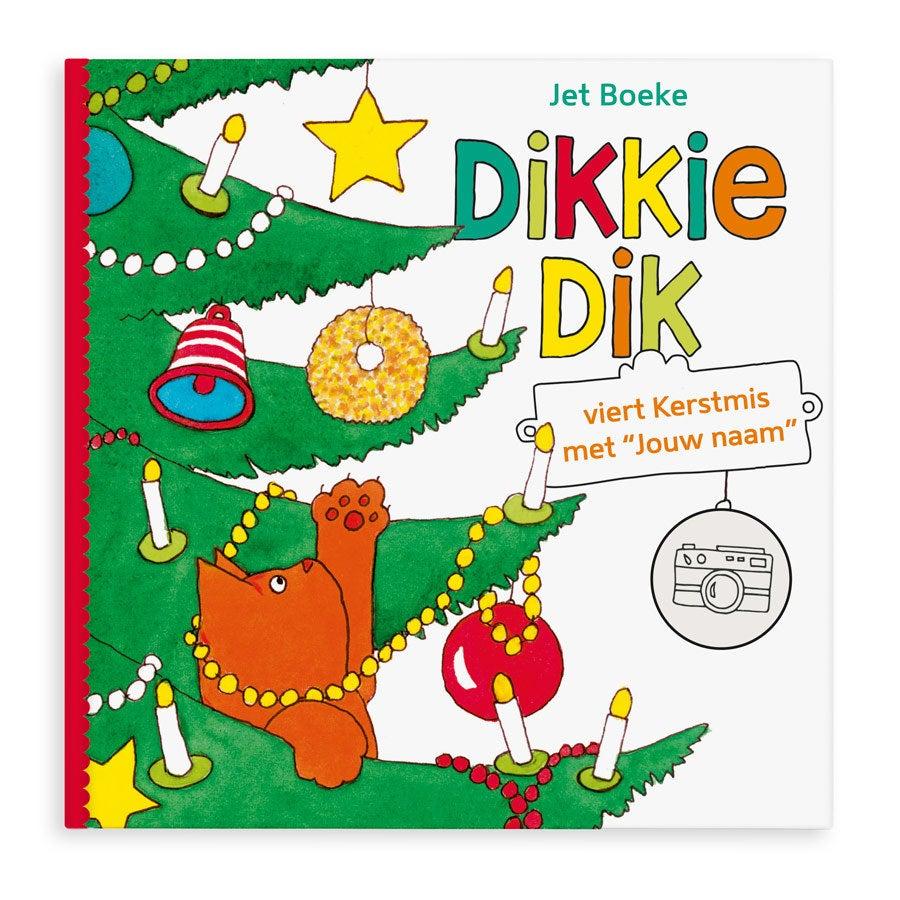 Boek met naam Dikkie Dik viert Kerstmis Softcover