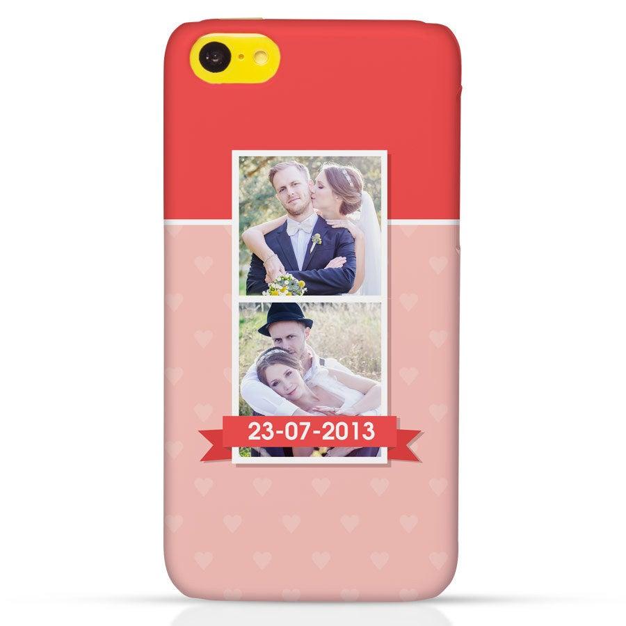 Handyhüllen - iPhone 5c - Fotocase rundum bedruckt