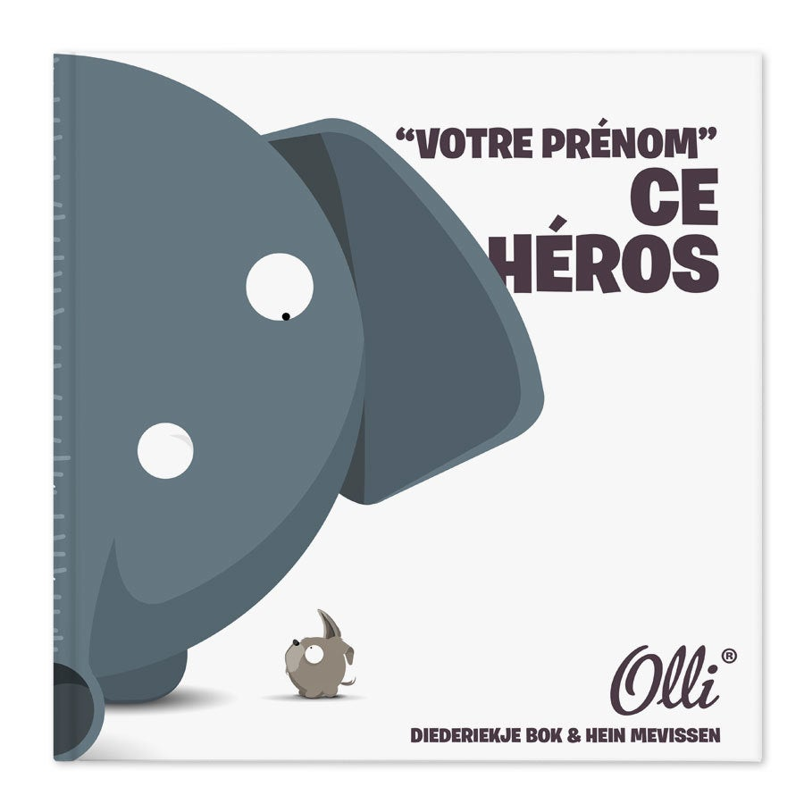 Ollimania - Papa ce héros - XXL (couverture rigide)