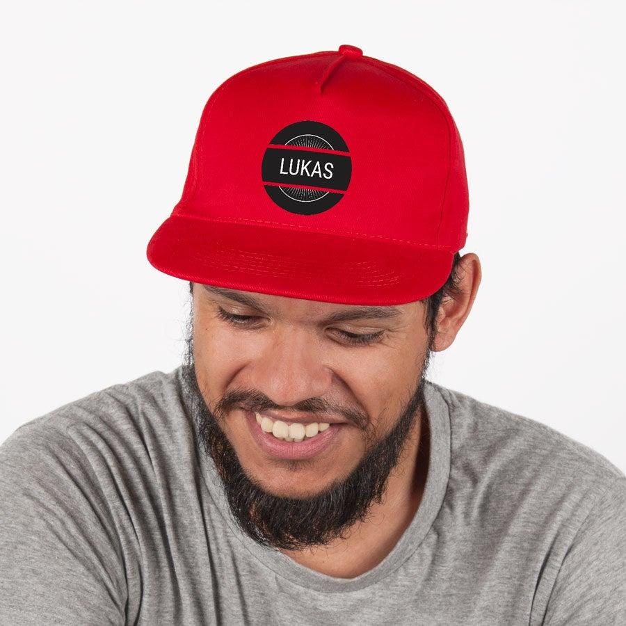 Individuellbekleidung - Basecap rot - Onlineshop YourSurprise