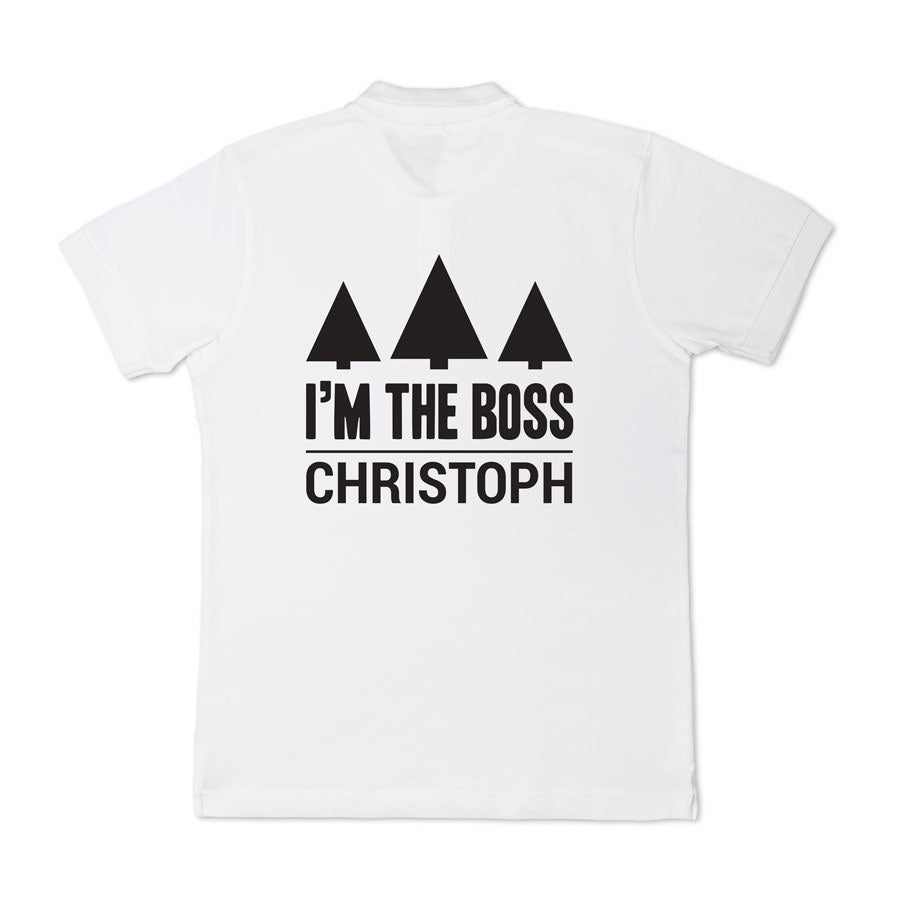 Polo shirt - Mænd - Hvid - S