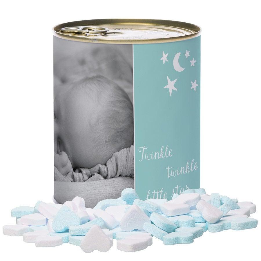 Barattolo di caramelle - Baby Hearts - Boy