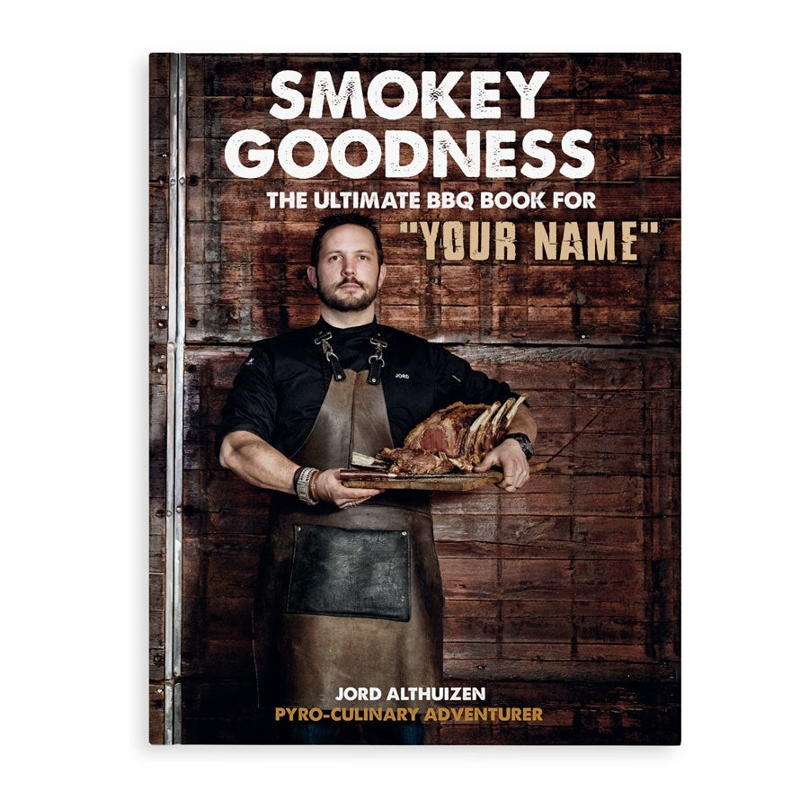 Personalised book - Smokey Goodness BBQ cookbook- Hardcover