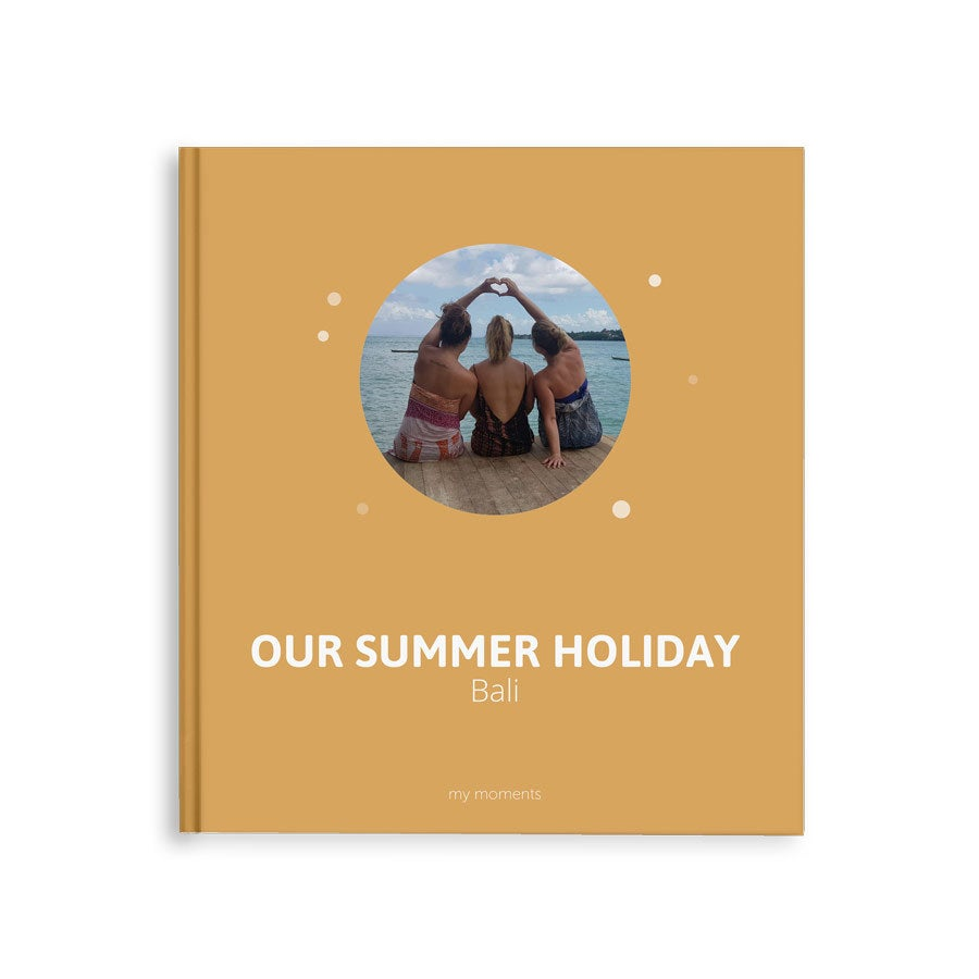 Fotókönyv Pillanatok - Nyári vakáció - M - Keménykötésű - 40 oldal
