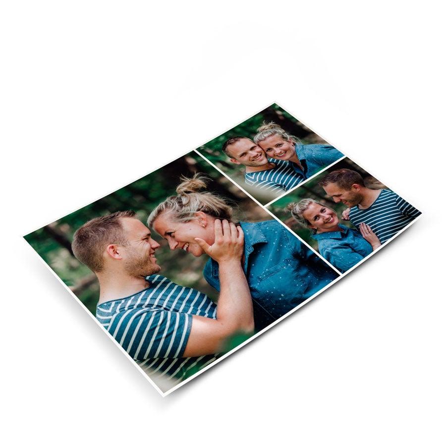Ansichtkaart met foto
