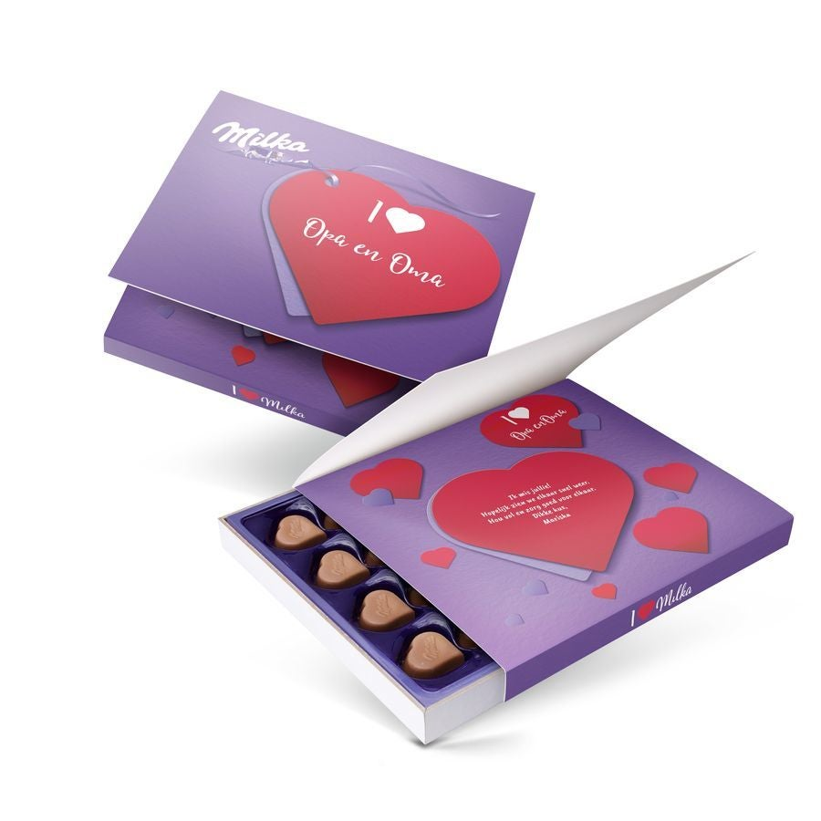 Say it with Milka giftbox - Liefde - 110 gram