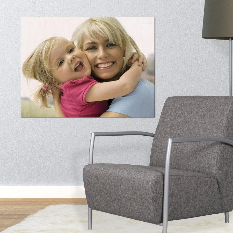 Puinen valokuvataulu (80x60cm)