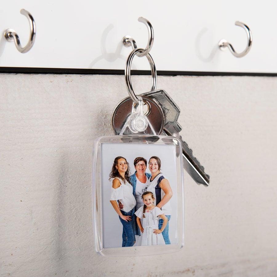 Schlüsselanhänger - Transparent - Set von 25