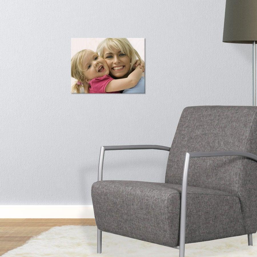 Fotoutskrift på trepanel (40x30cm)