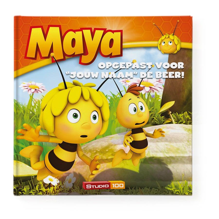 Boek met naam - Maya de Bij - Opgepast voor de beer - Hardcover