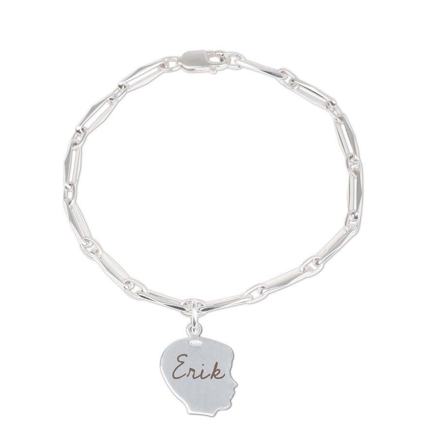 Individuellbabykind - Armband mit Gravur Junge Kinderanhänger - Onlineshop YourSurprise