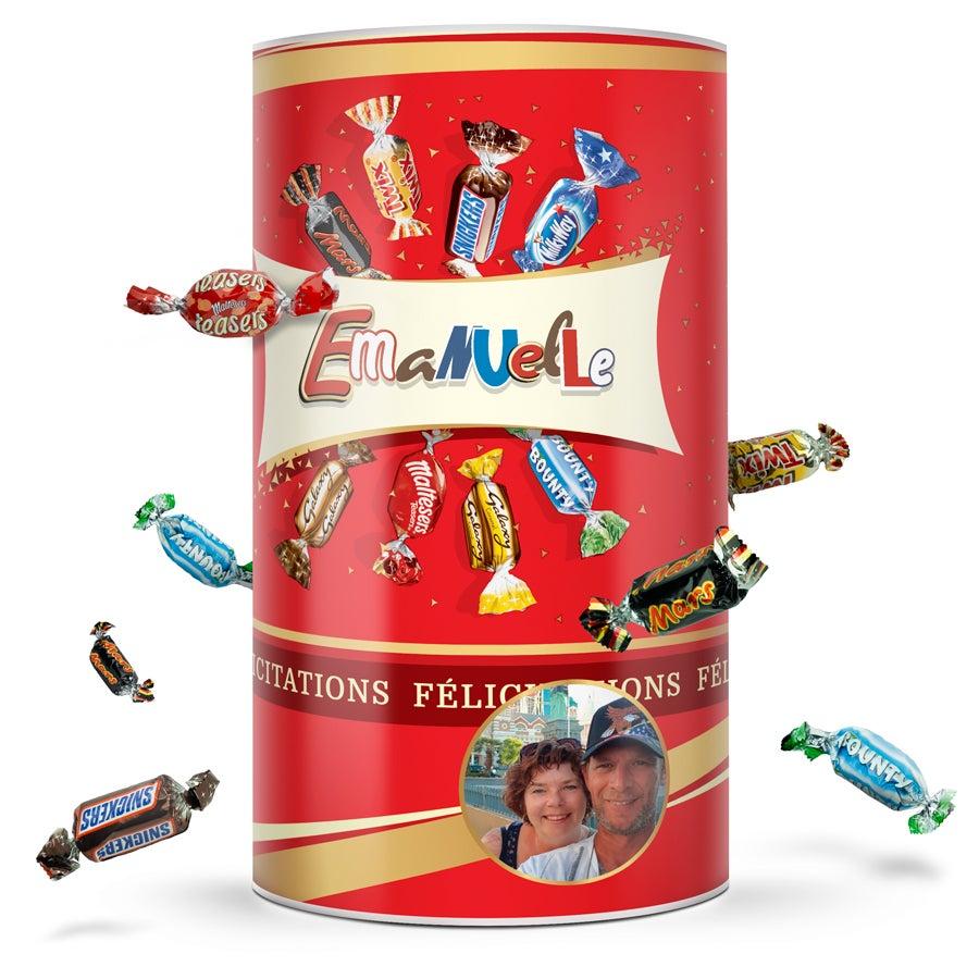 Assortiment de chocolats Celebrations personnalisé