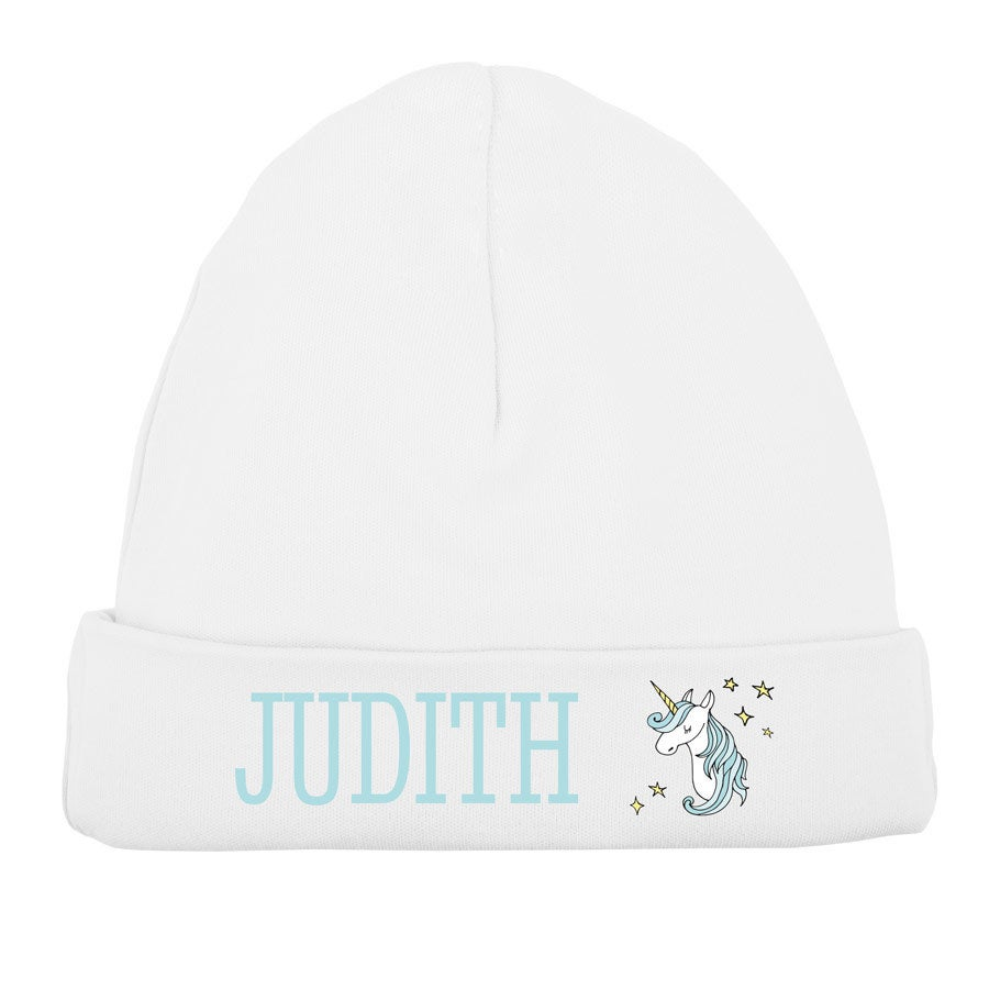 Vauvan hattu - valkoinen