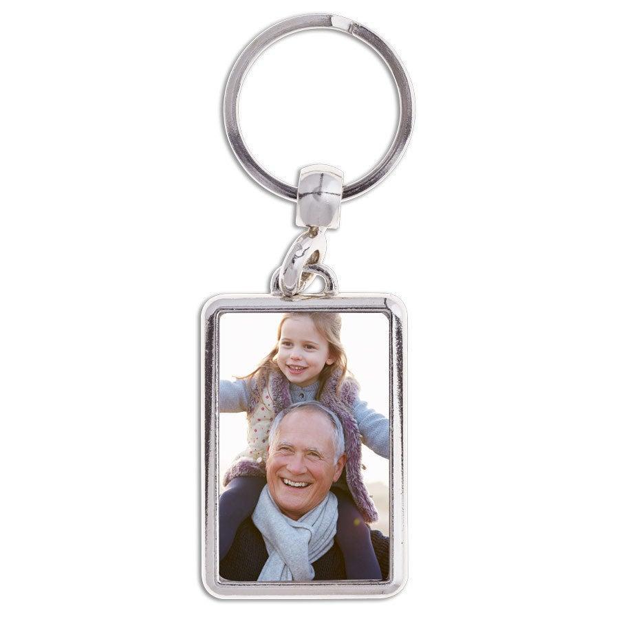 Porte-clé papy - Rectangulaire