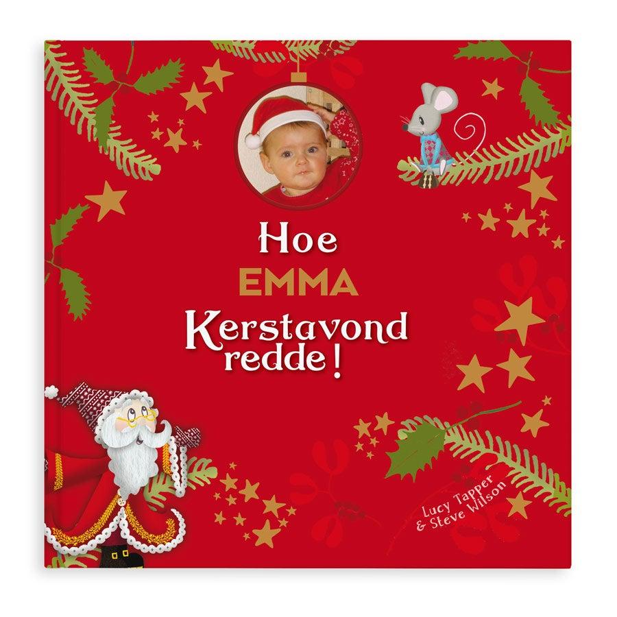 Boek met naam - Hoe Kerstavond werd gered - Softcover