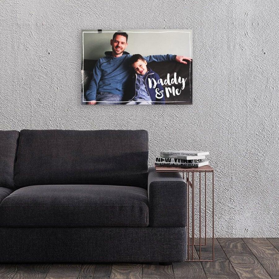 Canvas-taulu isälle - 60x40 cm