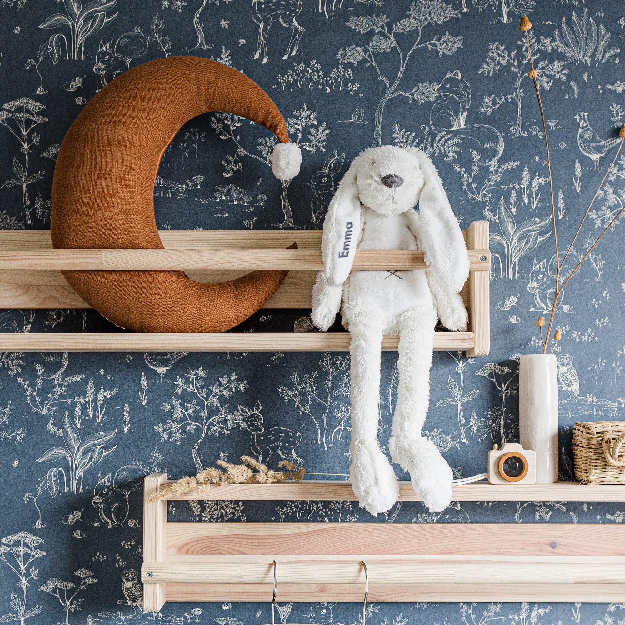 Happy Horse konijn met naam - ivoor