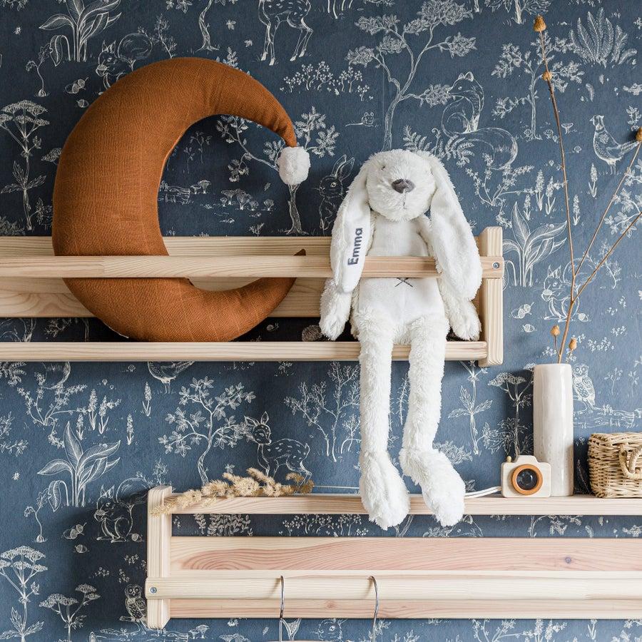 Personalised Big Rabbit Richie - Ivory