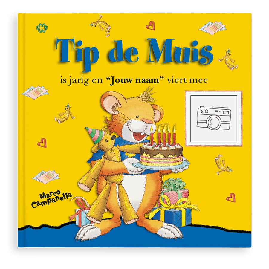 Boek met naam - Tip de Muis - Hardcover