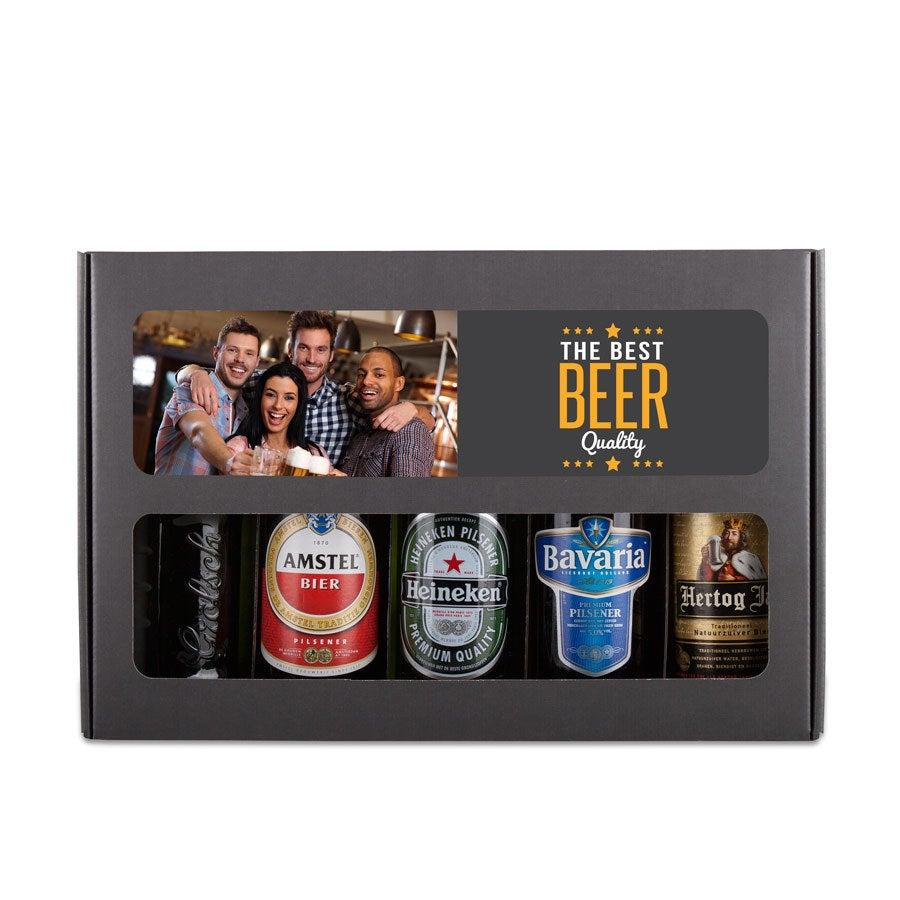 Individuellleckereien - Bier Geschenkset Holländisch - Onlineshop YourSurprise