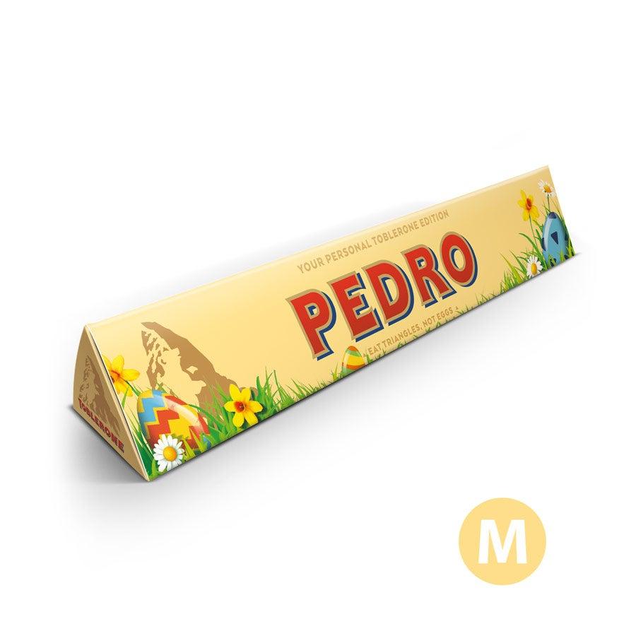 Barra de chocolate Toblerone  - Pascua